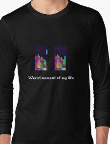 Tetris ruins my life. Long Sleeve T-Shirt