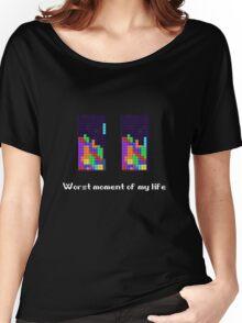 Tetris ruins my life. Women's Relaxed Fit T-Shirt