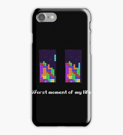 Tetris ruins my life. iPhone Case/Skin