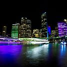 Circular Quay - Vivid Sydney by Bryan Freeman