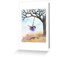 Swing Into Fall 2014 Greeting Card