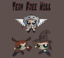 Powerpuff Team Free Will by Angrahius