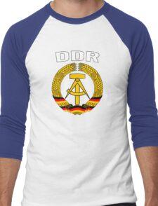EAST GERMANY - DDR Men's Baseball ¾ T-Shirt