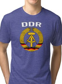EAST GERMANY - DDR Tri-blend T-Shirt