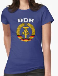 EAST GERMANY - DDR Womens Fitted T-Shirt