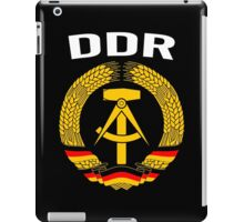 EAST GERMANY - DDR iPad Case/Skin