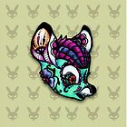 Sugar Skull Bambi by little-gunta