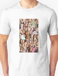 Gillian Anderson collage Unisex T-Shirt