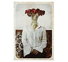 Still Life with The Faceless Woman Photographic Print