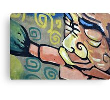 wall graffiti Canvas Print
