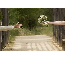 Hands married Photographic Print