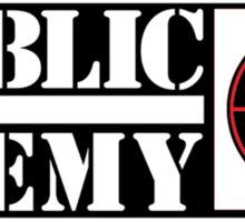 Public Enemy Sticker