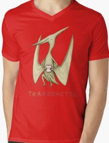 Tearodactyl Mens V-Neck T-Shirt