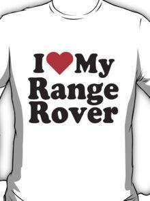 I Heart Love My Range Rover T-Shirt