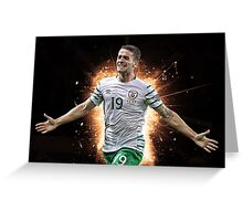 Robbie Brady Ireland Euro 2016 Greeting Card