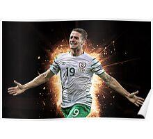 Robbie Brady Ireland Euro 2016 Poster
