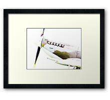 RAF Spitfire up close and personal Framed Print