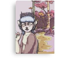 Fawn Girl Canvas Print