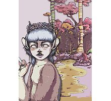 Fawn Girl Photographic Print