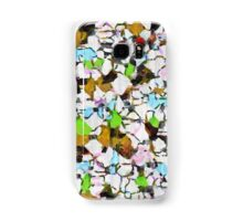 Brush strokes on a white background Samsung Galaxy Case/Skin