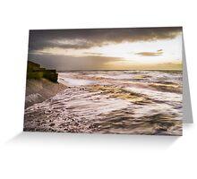 Golden Sea Greeting Card