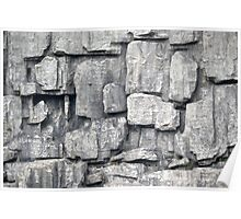 rock texture Poster