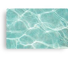 Water Texture V Canvas Print