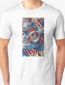 Patriotic Pinwheels Unisex T-Shirt