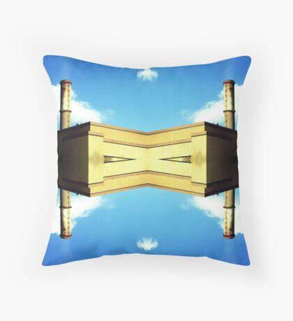 Mirror Factory Throw Pillow