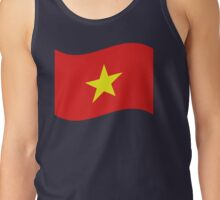 Vietnam Flag Wave Tank Top