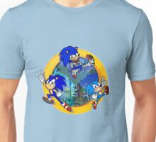 3 Shades of Sonic Unisex T-Shirt