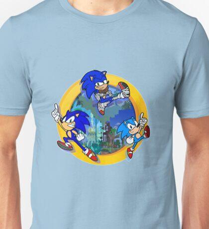 3 Shades of Sonic Unisex T-Shirt