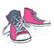 Sneakers. by Katyau