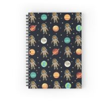 Caleb (Outer Space) Spiral Notebook