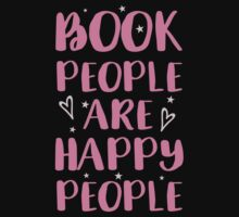book people are happy people Baby Tee