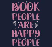 book people are happy people Kids Tee