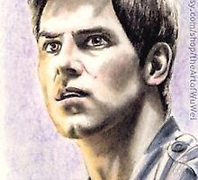 David Giuntoli miniature by wu-wei