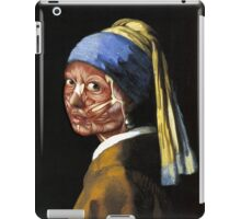 Girl with a Pearl by Lolita Tequila iPad Case/Skin