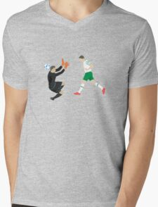 The Italian Rob Mens V-Neck T-Shirt