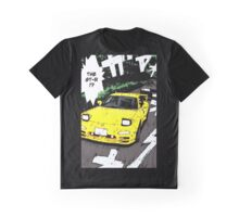 Initial D - FD3S vs R32 Graphic T-Shirt