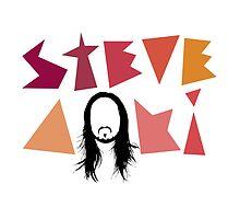 Steve Aoki logo by M M