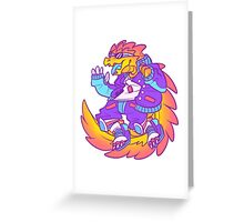 Sobek Greeting Card