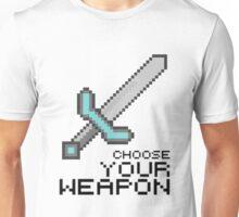 MINECRAFT SWORD Unisex T-Shirt