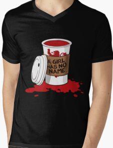 A girl has no name!  Mens V-Neck T-Shirt