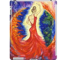 Dancing between two worlds iPad Case/Skin