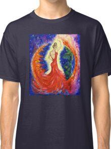 Dancing between two worlds Classic T-Shirt