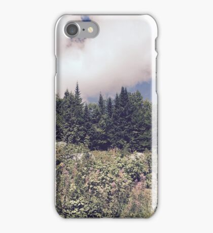 Purple Mount Washington iPhone Case/Skin