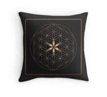 The Flower Of Life II Throw Pillow