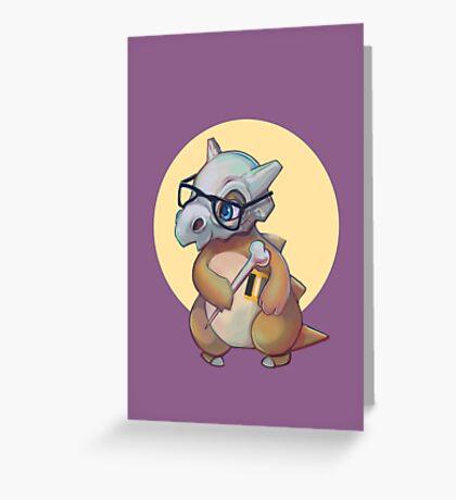 Cute Bone  Greeting Card