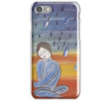 ...and it rained down on me iPhone Case/Skin